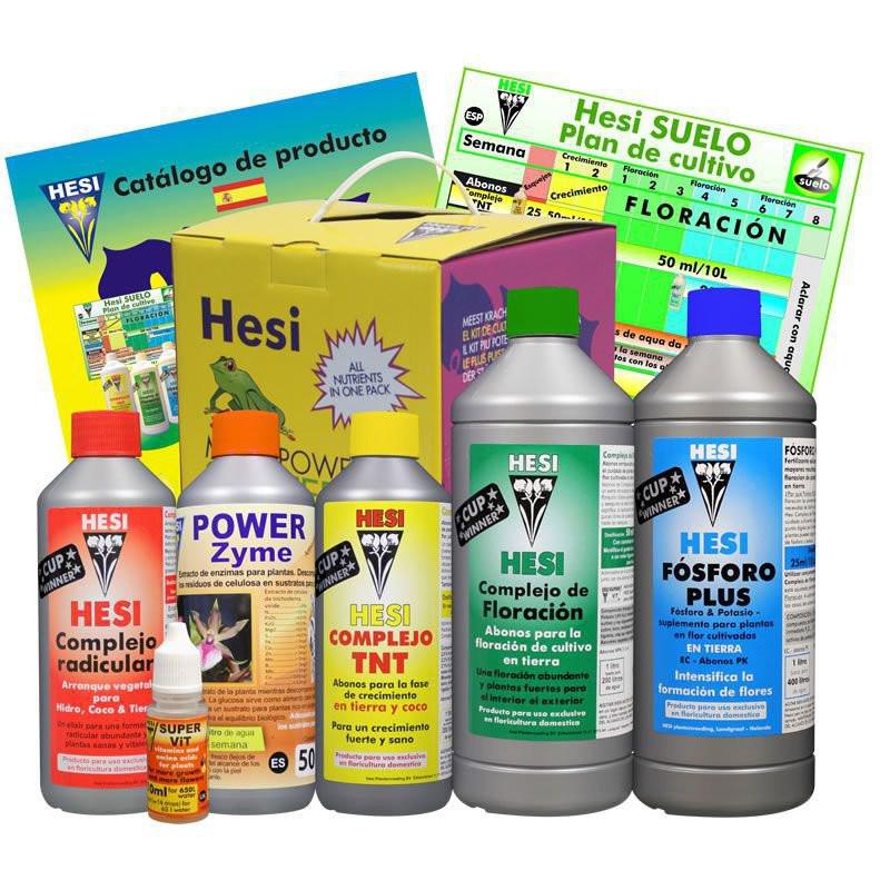HESI Soil Starter Kit 3.5L Комплект удобрений . Оригинал. Нидерланды.