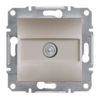 ТВ розетка концевая Asfora бронза, EPH3200169