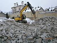 Бетонный бой, бой бетона с доставкой по Киеву и Киевской области.