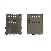 Разъем SIM-карты для Samsung P5200 Galaxy Tab 3/P5210/T310/T311/T111/E561