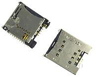 Разъем SIM-карты и карты памяти для LG GD310/GD580/KF350