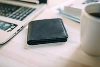 Мужское портмоне кошелек бумажник Edmund, Black, фото 1
