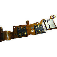 Разъем SIM-карты и карты памяти для Huawei Y530-U00 Ascend. на две SIM-карты. на шлейфе