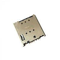 Разъем SIM-карты для Lenovo A516/A760/A820
