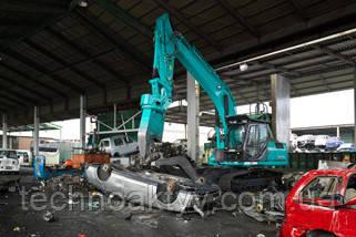 Экскаваторы Kobelco для разрушений и утилизации
