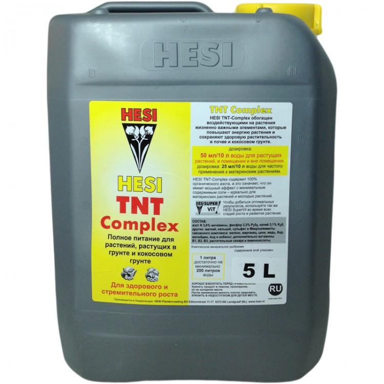 HESI TNT Complex 5L. Минеральное удобрение для гидропоники. Оригинал. Нидерланды.