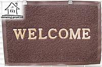 Коврик входной пена  60*40 (Welcome коричневый) К05