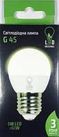 Лед лампа Led Original 6W E27 3000K