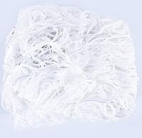 Сетка мини-футбольная футзальная гандбольная 2 шт NETS квадратная Полипропилен 4 мм Белый (СМИ HN-2)