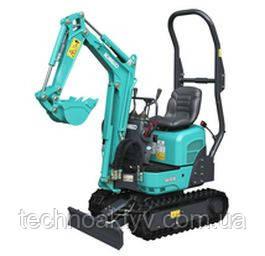 SK08 Рабочий вес 1,035 кг Мощность двигателя 7,7 кВт / 2400 мин-1 (ISO9249) Объем ковша 0,022 м3