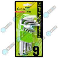 Набор ключей изогнутых TORX T10 – T50 Alloid 9 предметов