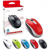 Компьютерная мышь Genius DX-120 USB Red