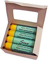 Мел для резины восковый желтый Sisa