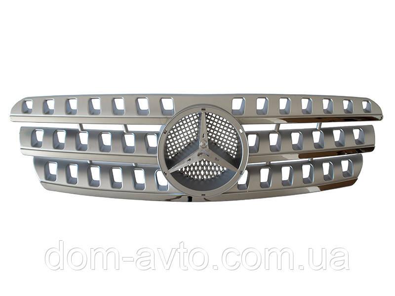 Решетка радиатора TUNING SILVER Mercedes мерседес мл W163 тюнинг стиль W164 ml