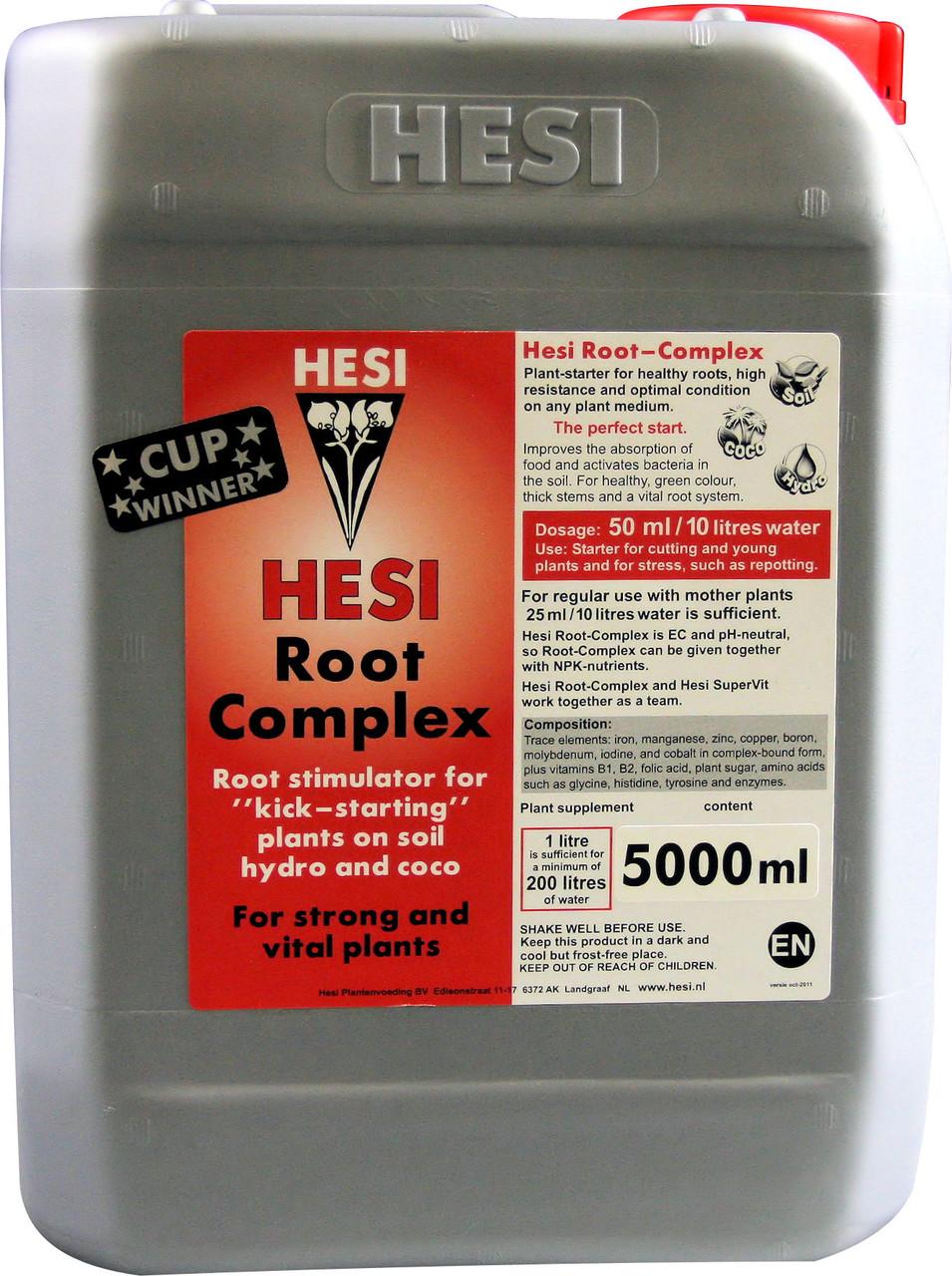 HESI Root Complex 5L. Минеральное удобрение для гидропоники. Оригинал. Нидерланды.