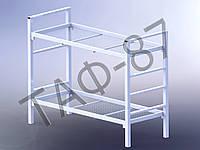 Кровать металлическая 2-х ярусная 2200х890, усиленная