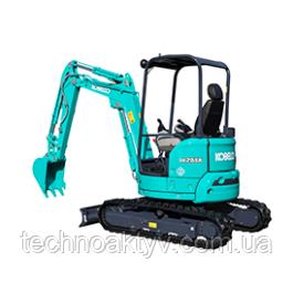 SK25SR-6 Транспортный вес 2565 кг / 2670 кг Мощность двигателя 15.2kW / 2,500rpm (ISO9249) Объем ковша 0,08 м3