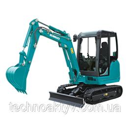 SK26 Транспортный вес 2,460 кг - 2,600 кг Мощность двигателя 17.6kW / 2,400rpm (ISO9249) Объем ковша 0,06 м3
