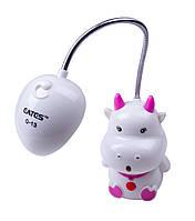 Лампа LED настільна дитяча (корівка)
