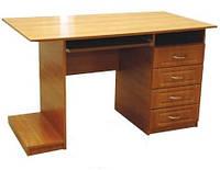стол компьютерный тумба МДФ 760х1230х700мм    Альфа