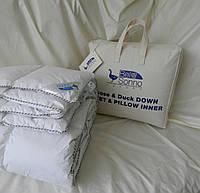 Одеяло пуховое LUXURY ELITE 95% пух 5% перо 215х235 KINGSIZE