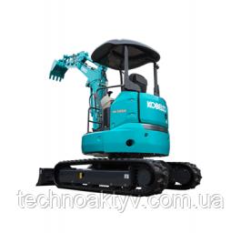 SK30SR-6 Транспортный вес 3230 кг - 3380 кг Мощность двигателя 17.1kW / 2,400rpm (ISO9249) Объем ковша 0,09 м3