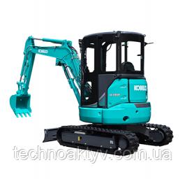 SK35SR-6 Транспортный вес 3,630 кг - 3,780 кг Мощность двигателя 17.1kW / 2,400rpm (ISO9249) Объем ковша 0,11 м3