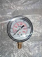 Манометр глицериновый  Для пилорам (Защита от ударных воздействий и ударов_