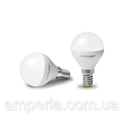 """Промо-набор EUROLAMP LED Лампа ЕКО G45 5W E14 3000K акция """"1+1"""", фото 2"""