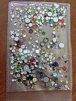 Набор камней разных цветов и размеров
