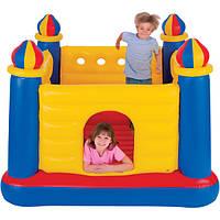 Детский надувной батут Замок Intex 48259