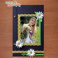 Блокнот, скетчбук, фотоальбом с пожеланиями и мечтами