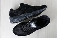 Мужские кроссовки, черные, комбинированные: с текстильными, замшевыми и кожаными вставками, на шнурках PUMA