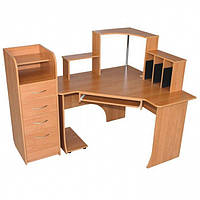 стол компьютерный угловой Консул 1150х1200х1200мм    Альфа