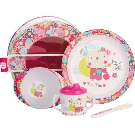 Набор детской посуды Tuc Tuc  KIMONO