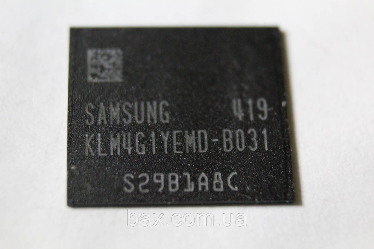 Микросхема памяти Samsung KLM4G1YEMD-B031 Описание