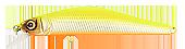Воблер Strake Pro 5055666   Inquisitor 110SP (866ES)16.6g