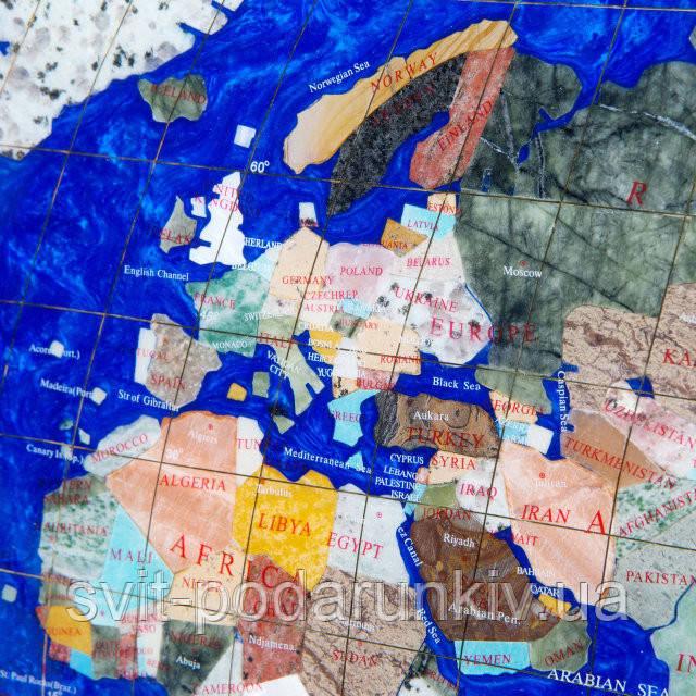 Сувенирная карта мира