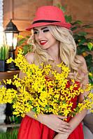 Соломенная шляпа-федора «Анжелик»