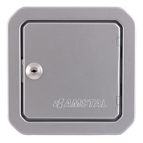 Люк для ревизии дымохода Parkanex, серебряный