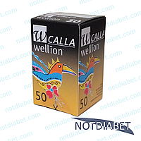 Тест полоски Wellion Calla Light №50 (50 шт)