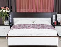 Кровать  Оливье (Kampala wenge, White)