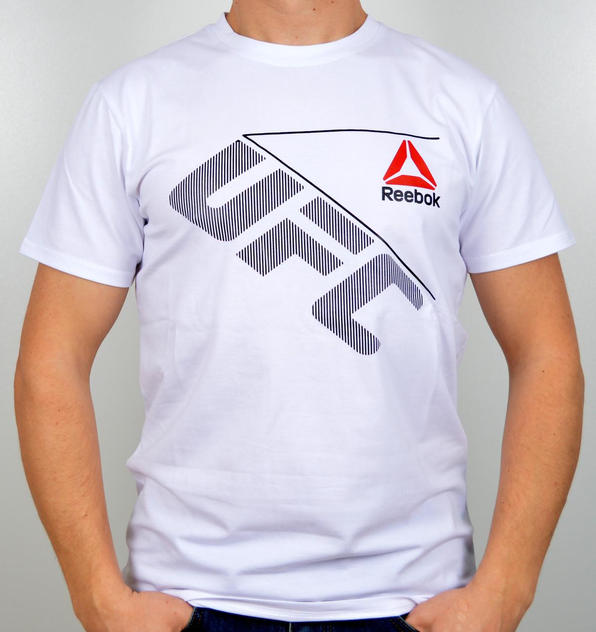"Мужская футболка ""Reebok UFC"" R17-03 белый"