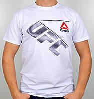 """Мужская футболка """"Reebok UFC"""" R17-03 белый, фото 1"""