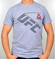 "Мужская футболка ""Reebok UFC"" R17-03 св.меланж"