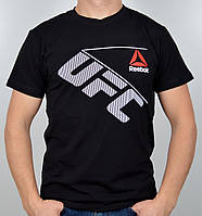 """Мужская футболка """"Reebok UFC"""" черный"""