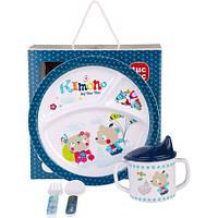 Набір дитячого посуду, Tuc Tuc KIMONO для хлопчика