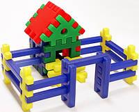 """Конструктор-пазл для малышей """"Теремок"""", ТМ Toys Plast, ип.09.002"""