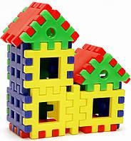 """Конструктор-пазл для малышей """"Домик 3-х поросят"""", Toys Plast, ИП.09.003"""