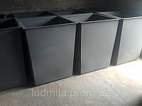 Бак для мусора 700 литров (боковая загрузка)
